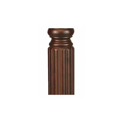 Old Havana Series Custom Column Finish: Carved Post
