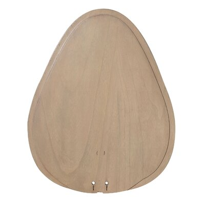 22 Palisade Series Wooden Ceiling Fan Blades Finish: Sambel Sand