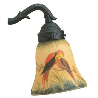5.25 Glass Bell Ceiling Fan Fitter Shade