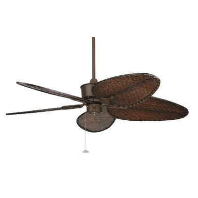 52 Islander 5 Narrow Bamboo Blade Ceiling Fan