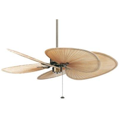 52 Islander 5 Palm Blade Ceiling Fan