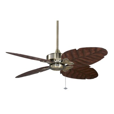 Windpointe Four Blade Motor Finish: Antique Brass
