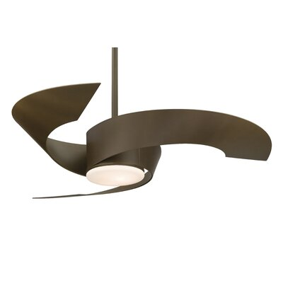 52 Torto 3-Blade Ceiling Fan Finish: Oil Rubbed Bronze