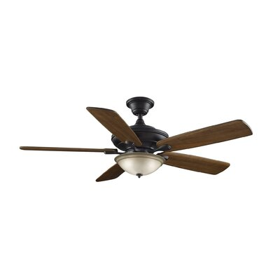 54 5 Blade Ceiling Fan with Remote