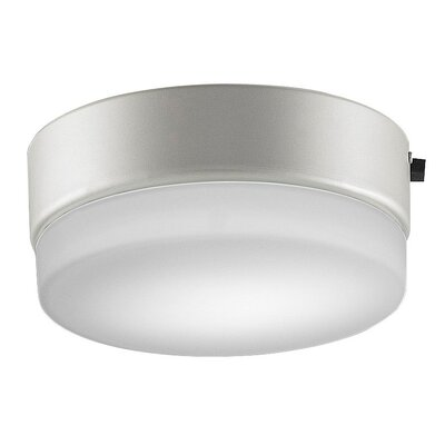Zonix Wet 9 Glass Bowl Ceiling Fan Fitter Shade Finish: Satin Nickel