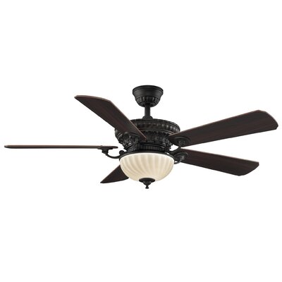 52 Ventana 5-Blade Ceiling Fan with Remote