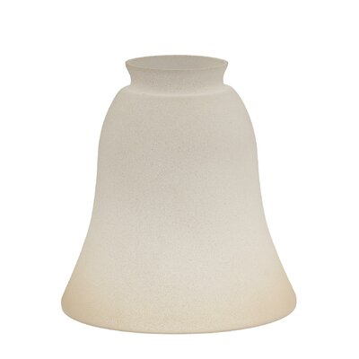 14.57 Glass Bell Pendant Shade Finish: Tea Satin