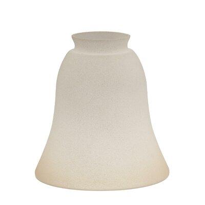 14.57 Glass Bell Pendant Shade Finish: Tea Satin