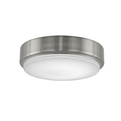 Levon Custom 7.09 Glass Bowl Ceiling Fan Fitter Shade Finish: Brushed Nickel