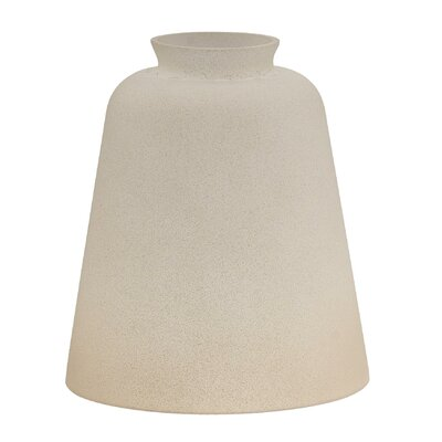 4.25 Glass Empire Pendant Shade (Set of 4) Finish: Tea Satin