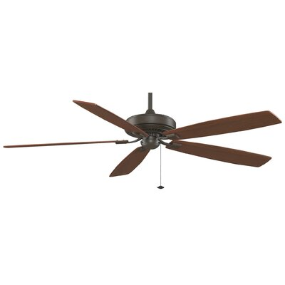 72 Edgewood 5-Blade Ceiling Fan Finish: Oil Rubbed Bronze with Cherry / Walnut Blades