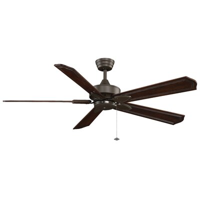 52 Windpointe 5 Blade Ceiling Fan Finish: Oil Rubbed Bronze