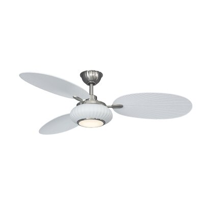 56 Palma 3 Blade Outdoor Ceiling Fan with Remote