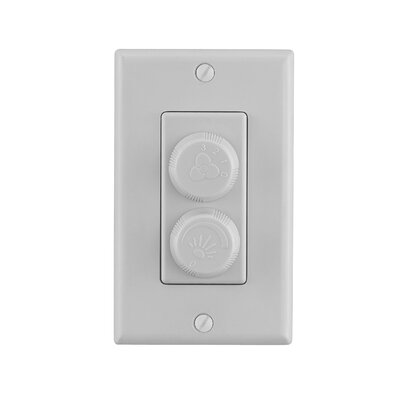 Speed and Light Wall Mounted Fan Control