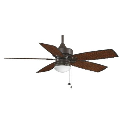 52 Cancun 5 Blade Outdoor LED Ceiling Fan