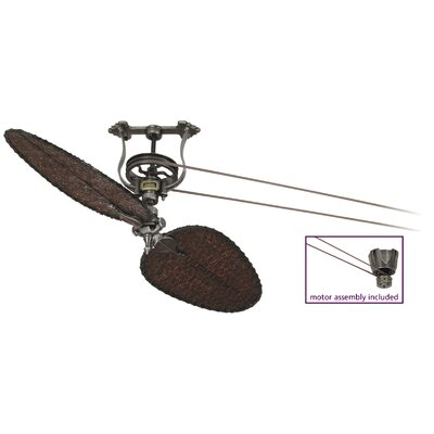 Brewmaster Series Ceiling Fan Motor Finish: Pewter