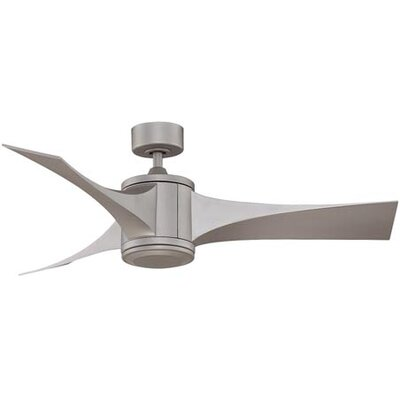 52 Jennix 3-Blade Ceiling Fan with Remote Finish: Oil-Rubbed Bronze