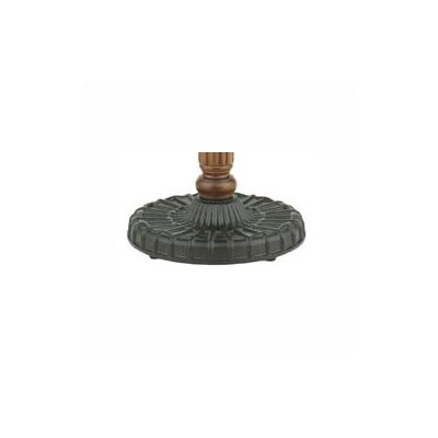 Old Havana Series Fan Pedestal Base Finish: Rust