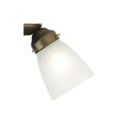 4.75 Glass Bowl Ceiling Fan Fitter Shade Glass: White Frosted