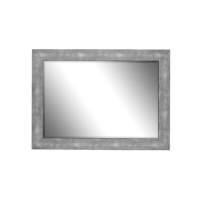 Aosta Silver Framed Wall Mirror 253801