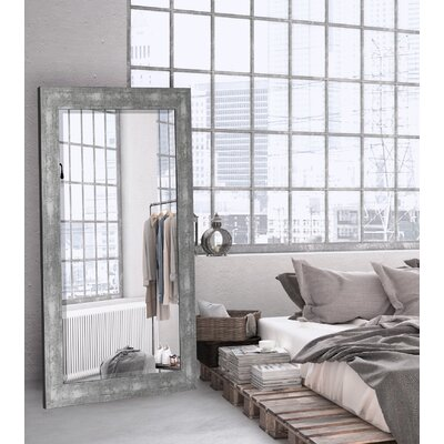 Aosta Silver Framed Wall Mirror 253800