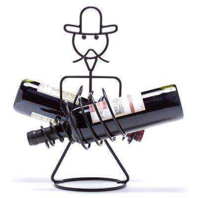 Rodeo 2 Bottle Tabletop Wine Rack