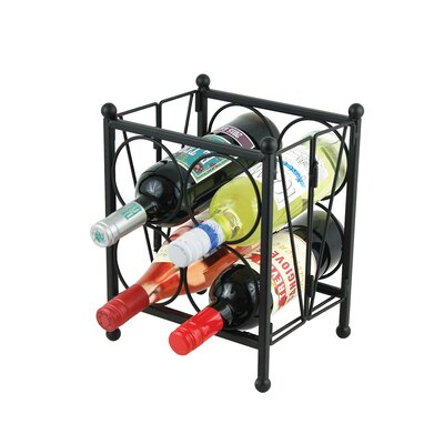 Zolotas 4 Bottle Floor Wine Rack