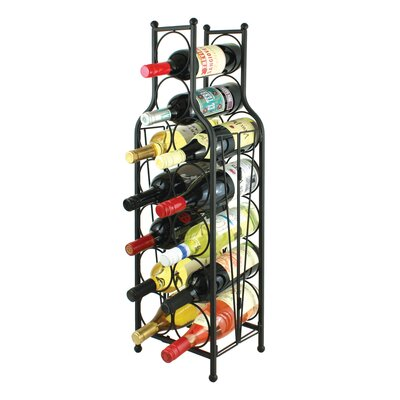 Raishon 12 Bottle Floor Wine Rack