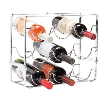 Baeza 9 Bottle Countertop Wine Bottle Rack