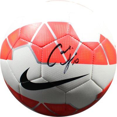Carli Lloyd Signed Nike Soccer Ball LLOYSOS000001
