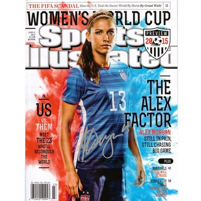 Alex Morgan 2015 World Cup Sports Illustrated Photo Graphic Art MORGPHS016005