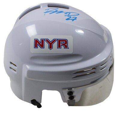 Decorative Ryan McDonagh Signed New York Rangers Replica Mini Helmet MCDOMIS000003