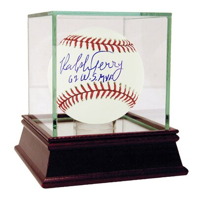 Ralph Terry MLB Baseball with '62 WS MVP' Inscription