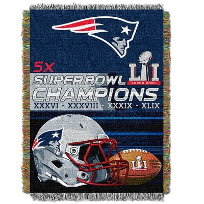 NFL Champs Burst Patriots Throw