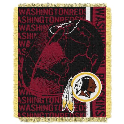 NFL Washington Redskins Triple Woven Jacquard Throw Blanket