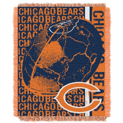 NFL Chicago Bears Triple Woven Jacquard Throw Blanket