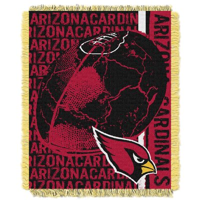 NFL Arizona Cardinals Triple Woven Jacquard Throw Blanket