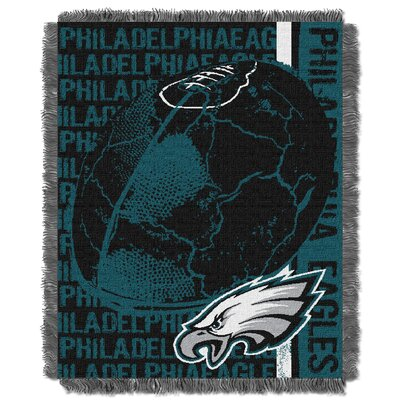 NFL Philadelphia Eagles Triple Woven Jacquard Throw Blanket