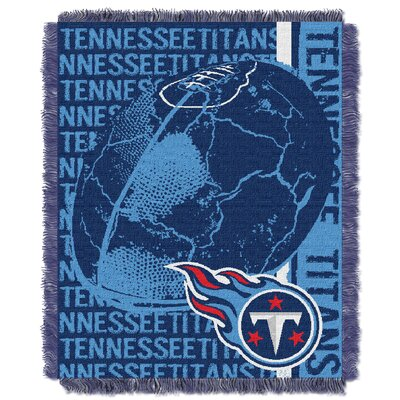 NFL Tennessee Titans Triple Woven Jacquard Throw Blanket