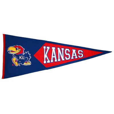 NCAA Classic Pennant Banner Type: Kansas