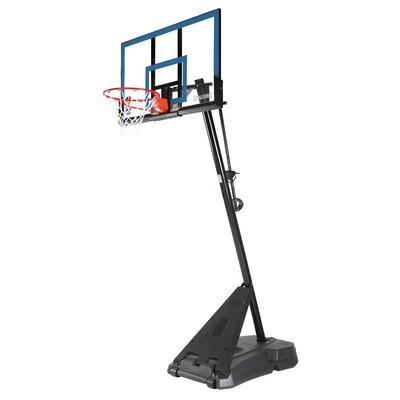 Spalding Acrylic Portable Basketball Hoop - Color: Black / Blue at Sears.com