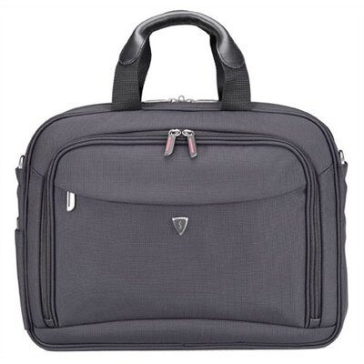 Sumdex Laptop  on Sumdex Altitude Series Double Gusset Black Laptop Briefcase