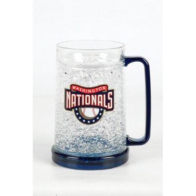 MLB Crystal Freezer Mug MLB Team: Washington Nationals