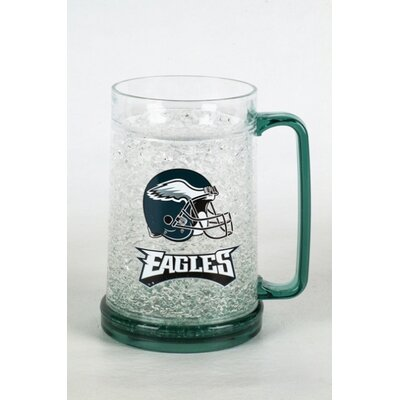 NFL Beer Glass 16 oz. Crystal NFL Team: Philadelphia Eagles CMFBPHI