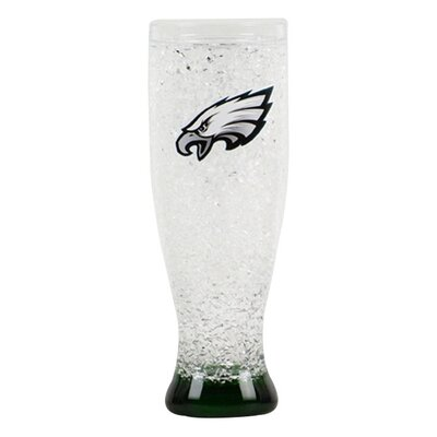 NFL 16 Oz. Crystal Freezer Pilsner Glass NFL Team: Philadelphia Eagles CMFBPHIP