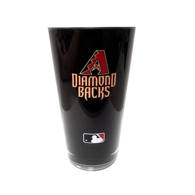 MLB Single Martini Glass 20 oz. Plastic DHBBARIT