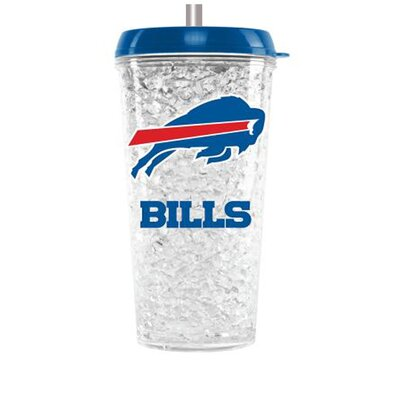 NFL 16 oz. Plastic Travel Tumbler NFL Team: Buffalo Bills CMFBBUFT