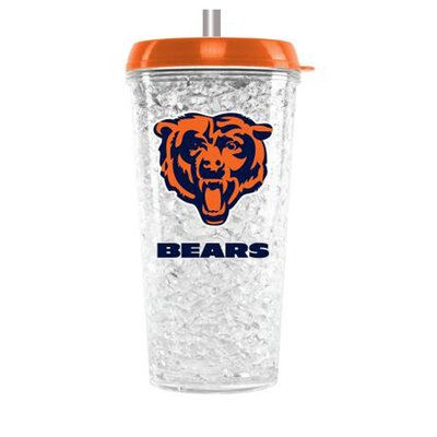 NFL 16 oz. Plastic Travel Tumbler NFL Team: Chicago Bears CMFBCHIT
