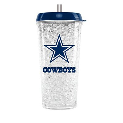NFL Crystal Insulated Tumbler NFL Team: Dallas Cowboys CMFBDALT