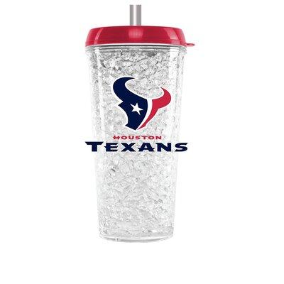 NFL 16 oz. Plastic Travel Tumbler NFL Team: Houston Texans CMFBHOUT